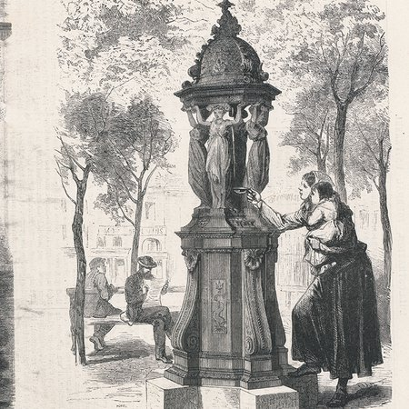 Fountain, Illustration 1872