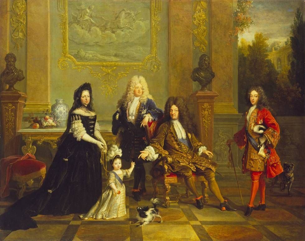 Madame de Ventadour with Louis XIV and his Heirs, French School, 1715–20.jpeg