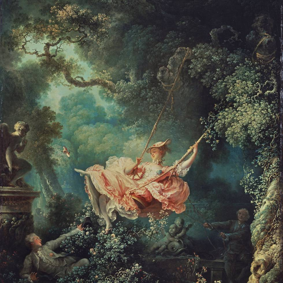 The swing jean honore fragonard