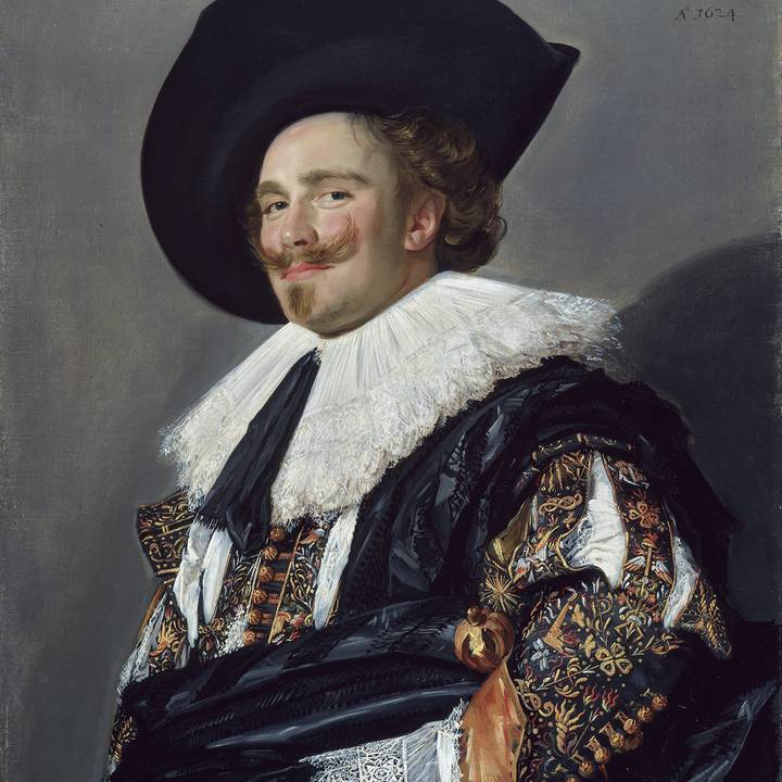 Seventeenth century, three-quarter length portrait of a young man