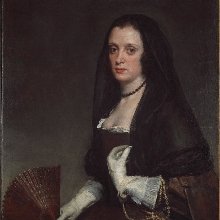P88, The Lady with a Fan, Diego Velázquez