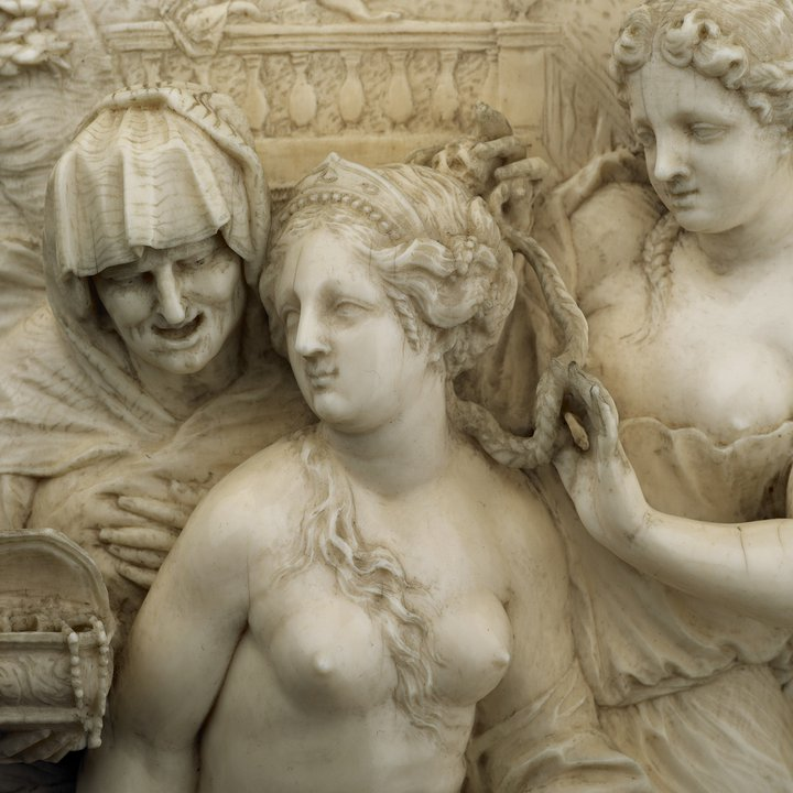 S263 detail, Toilet of Bathsheba, François Bossuit