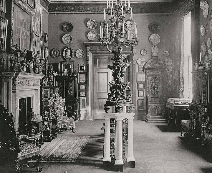 Sixteenth-Century Room at Hertford House. Photograph by John Thomson, c. 1888.