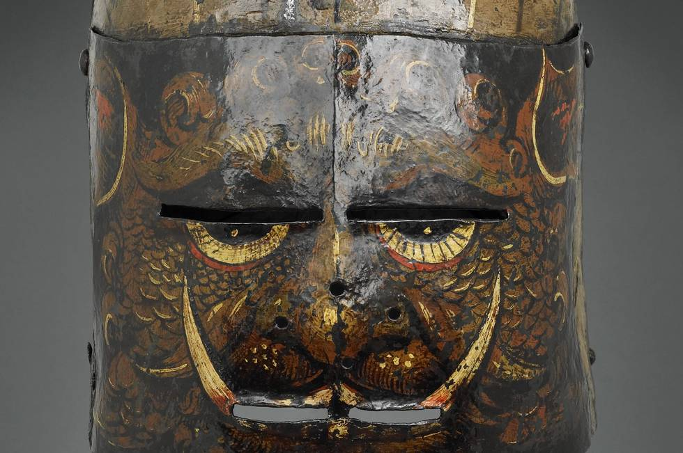 Armour as a Canvas: Painted Helmets in the European Armouries