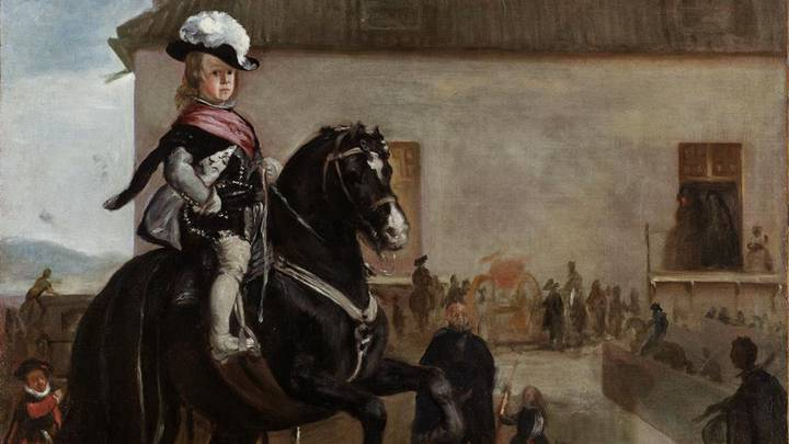 Treasure of the Month: Prince Baltasar Carlos in the Riding School