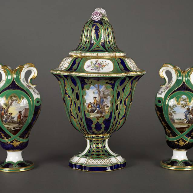 Porcelain for Palaces: The Royal Manufactory of Sèvres