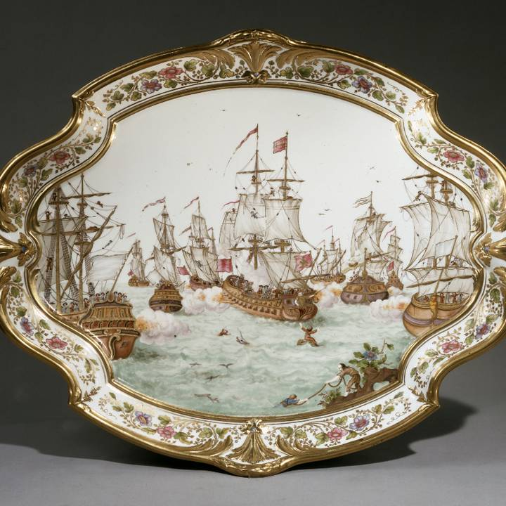 Treasure of the Month: Sèvres tea service and tray