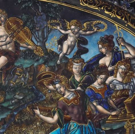 Inspired by Olympus: Stories of the Gods on Renaissance Enamels and Ceramics