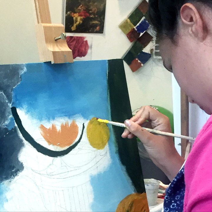 All things Light and Beautiful: Colour and Painting Workshop