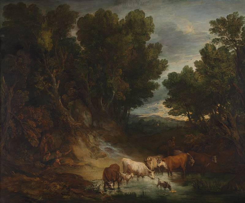 Rubens Talk Series - 'Equal to the Great Masters': Landscapes by Gainsborough and Rubens