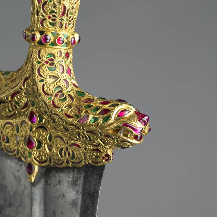 Ivory and Jade: Opulent hilts in the Oriental Armouries