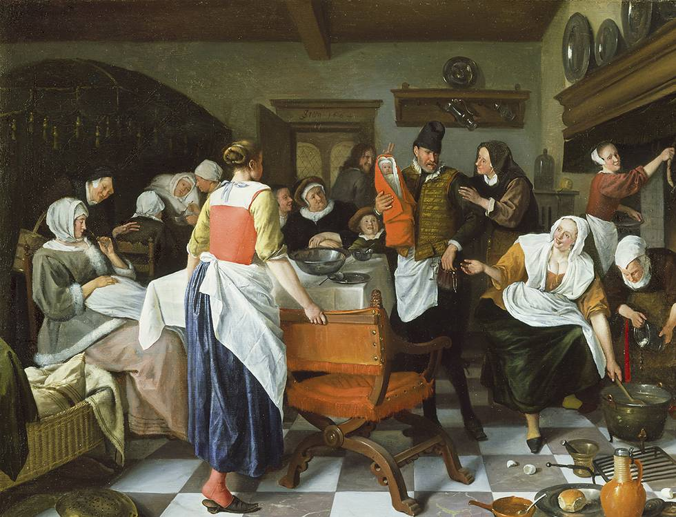 Visual Proverbs: Story-telling in Dutch Genre Paintings