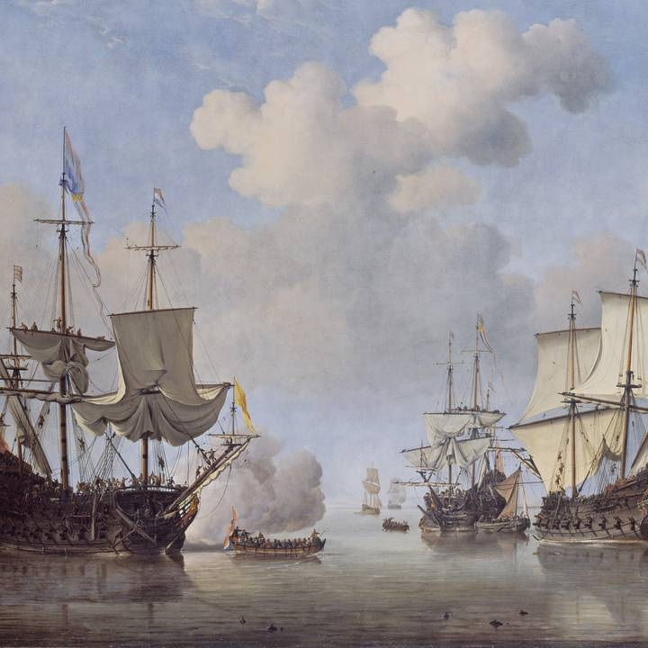 Ships in Seventeenth-Century Dutch Painting