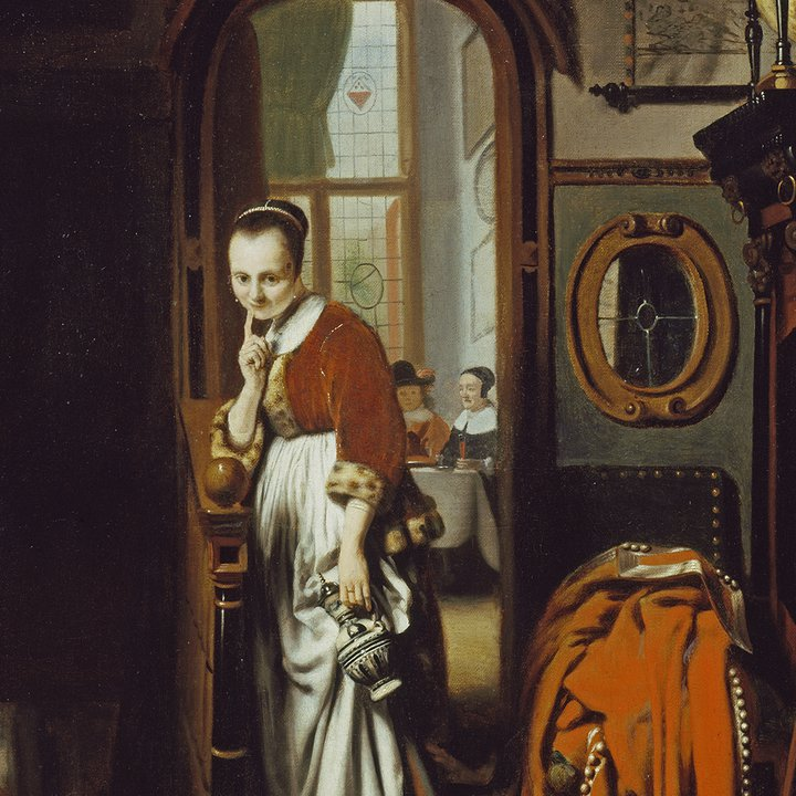The Listening Housewife: Everyday Scenes in Seventeenth Century Holland