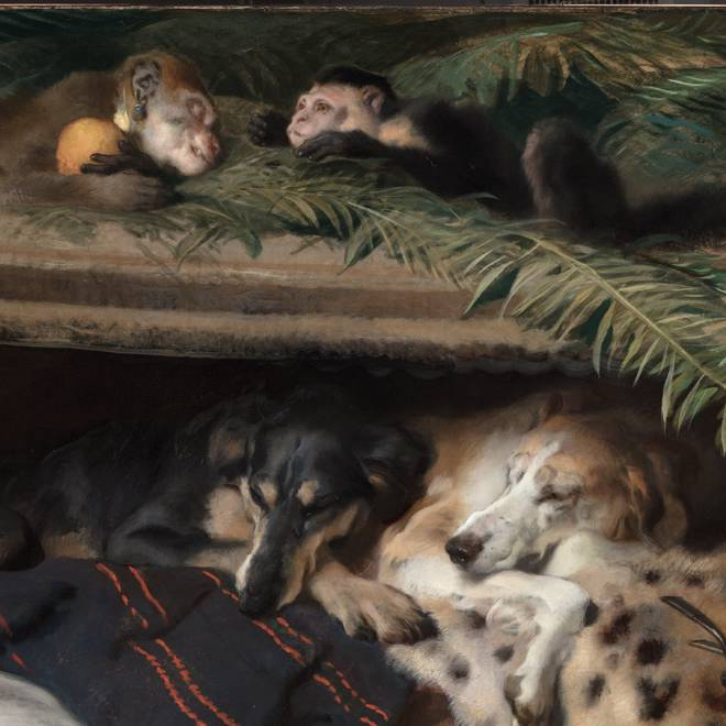 Exotic Animals at the Wallace Collection
