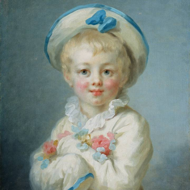 Treasure of the Month: Jean-Honoré Fragonard, A Boy as Pierrot
