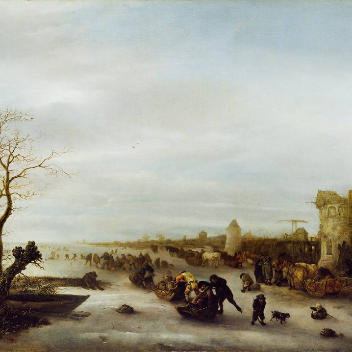 Treasure of the Month: Isack Van Ostade, A Winter Scene