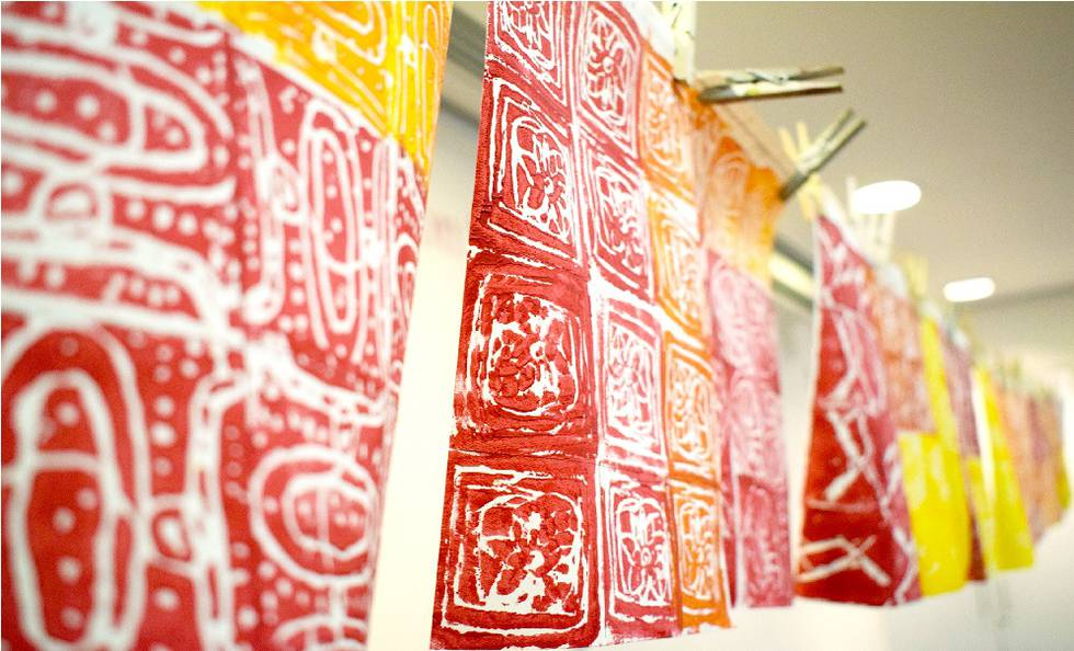 Investigating Patterns: Printmaking Workshop